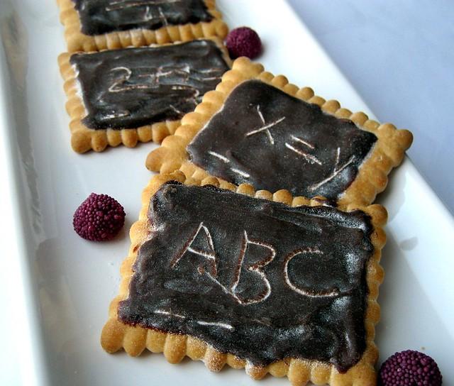 çikolatalı kara tahta