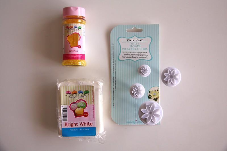 material para las decoraciones del huevo