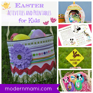 Easter Printables and Activities for Kids