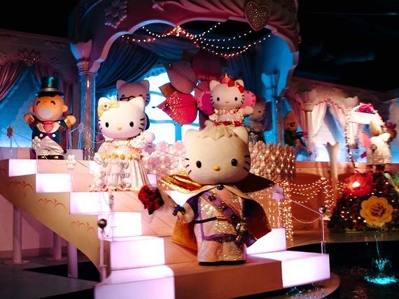 Sanrio Theme Park - Puroland - boat ride
