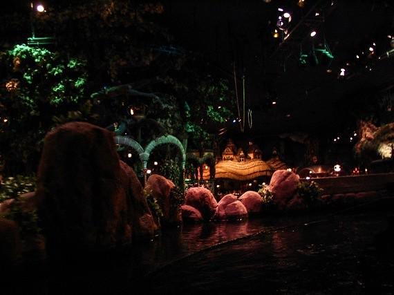 Sanrio Theme Park - Puroland - boat ride 2