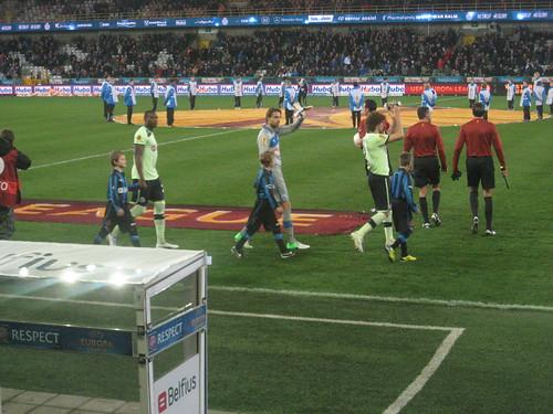 Brugge vs NUFC