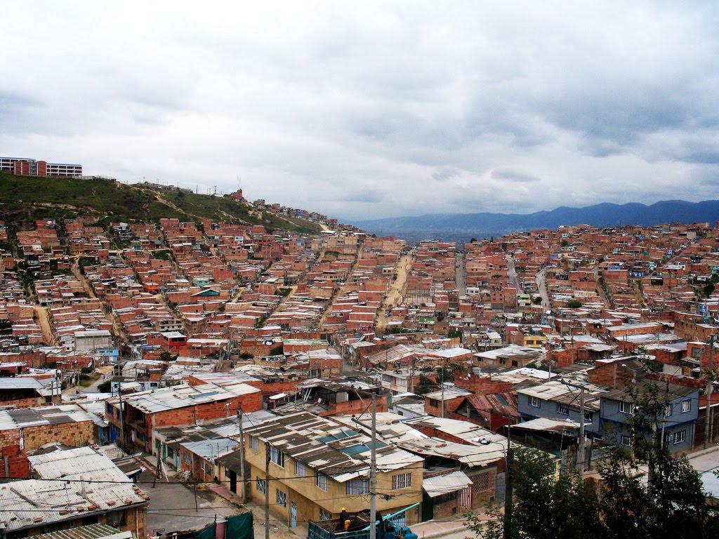 Poverty & Slums Bogota, Colombia | Poverty in Bogota ...