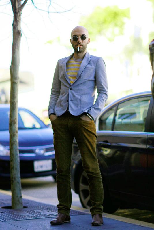 humberto street style, street fashion, men, Valencia Street, San Francisco,