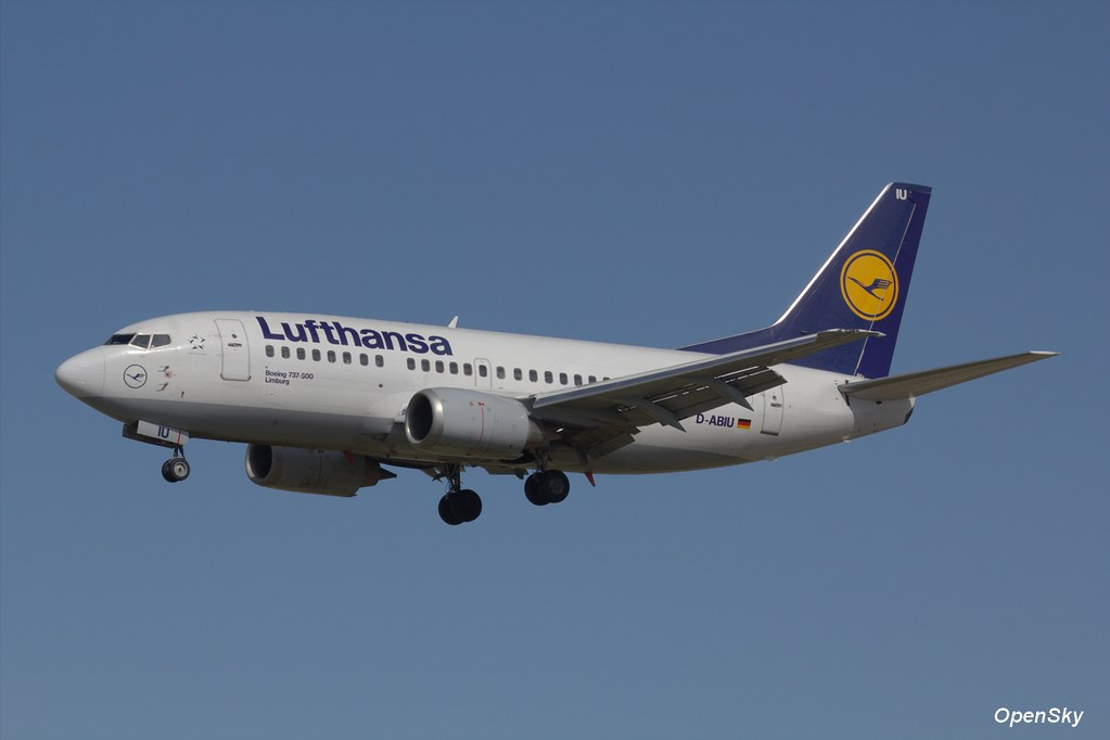 Lufthansa Boeing 737-530 D-ABIU (cn 24944)