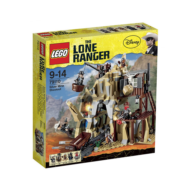 LEGO The Lone Ranger 79110 - Silver Mine Shootout - BoxArt