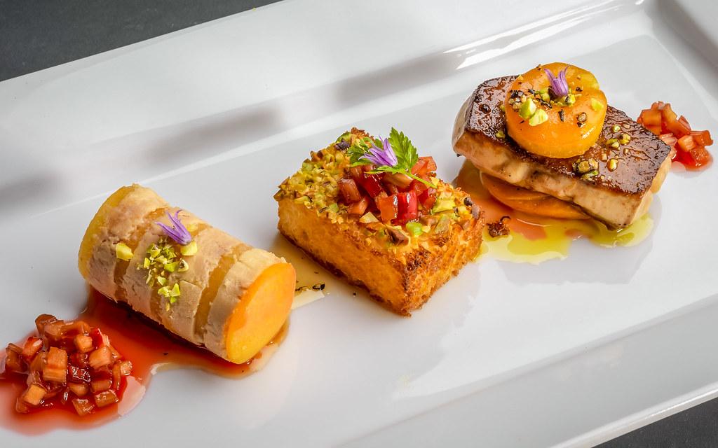 Hudson Valley foie gras duo at Troquet