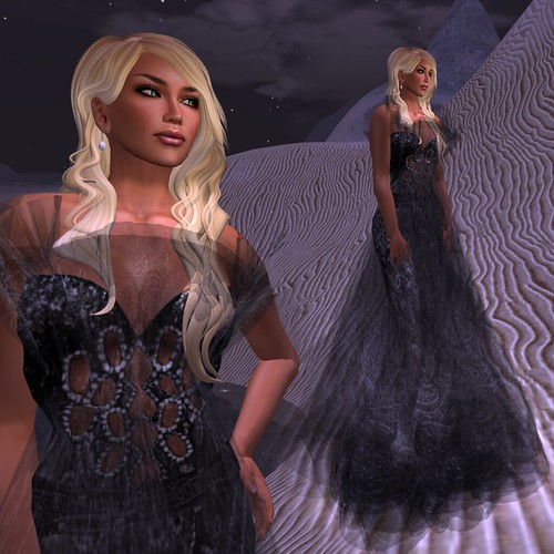 Paris METRO Couture_ The Madien Black Sand