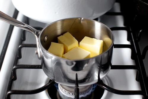 browning the butter