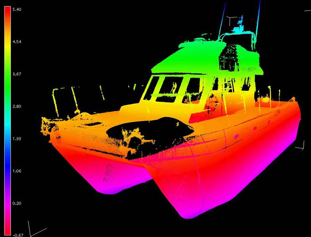 3D Laser scan data from Faro scanner