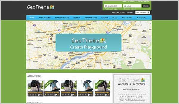 WordPress directory geotheme