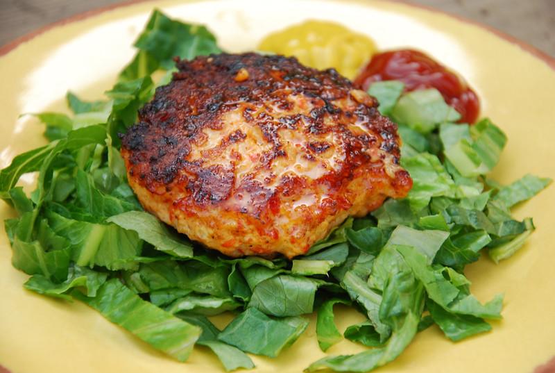 Bell Pepper Chicken Burgers - Life Made Full