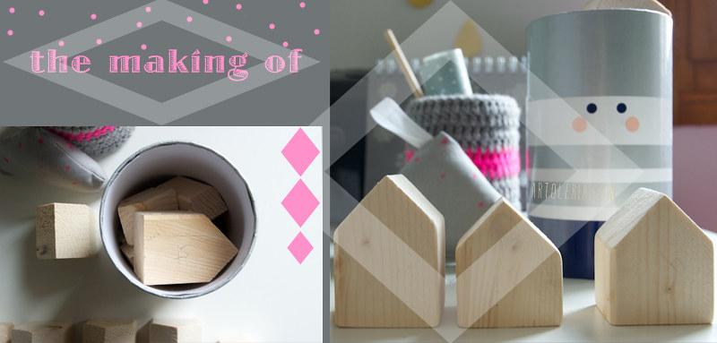il making delle casette decorative