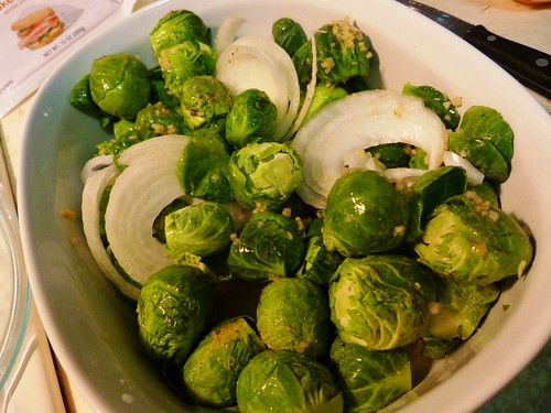 Meatless  Monday: Organic Brussels Sprouts