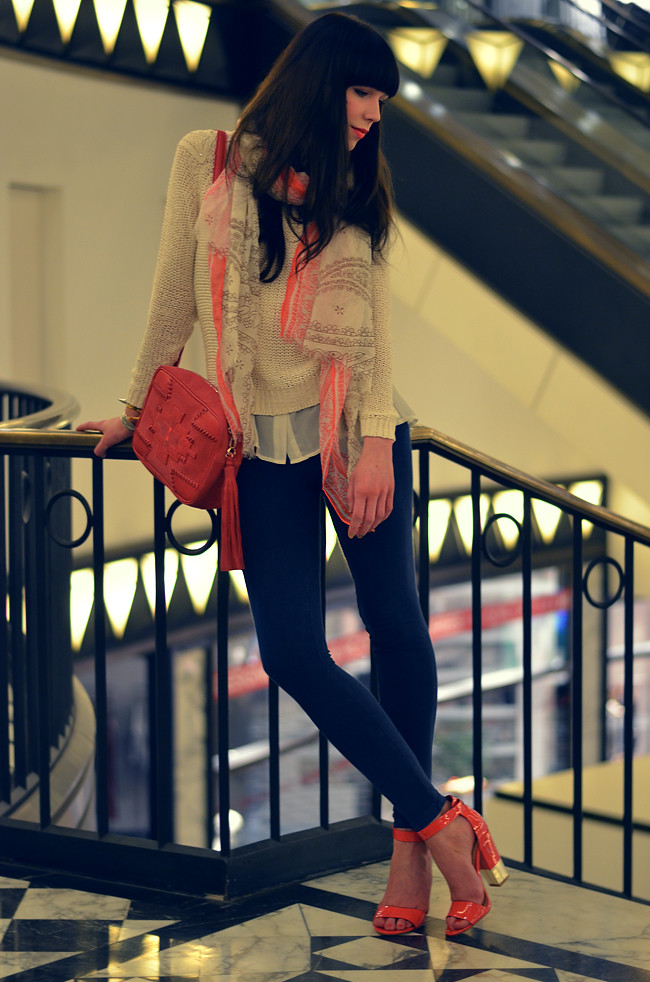 Outfit for Stradivarius Magazine March 2013 Blogger Styling 7