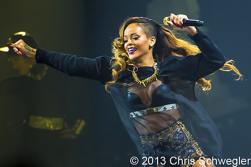 Rihanna - 03-21-13 - Diamonds World Tour, Joe Louis Arena, Detroit, MI
