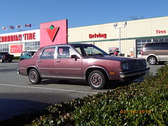 Cars seen at Canadian Tire (Maple Ridge)