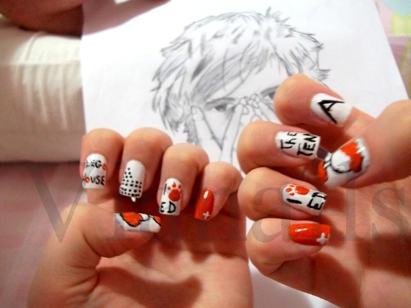 Ed Sheeran nail art