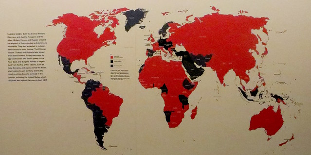 World War I Museum Taking Sides Map Flickr Photo