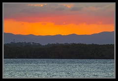 Colour Sky over the Hills and Hayes Inlet-1=