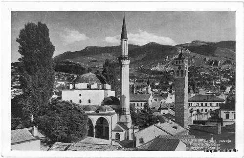 Sarajevo, la mosquée Begova, Begova dzamija, vers 1940