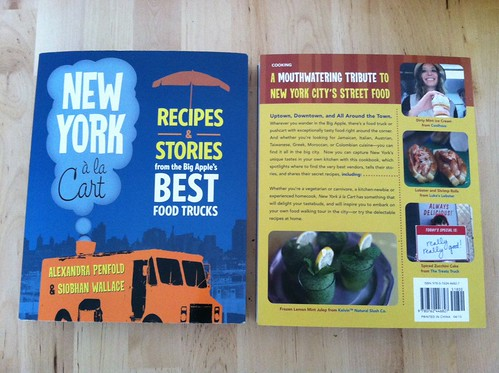 NY a la Cart front and back covers