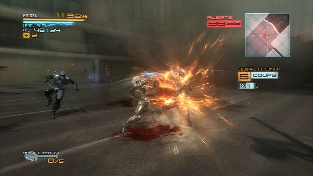 Metal Gear Rising : Revengeance - Screenshot 3