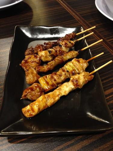 Yakitori Combo with Tare Sauce