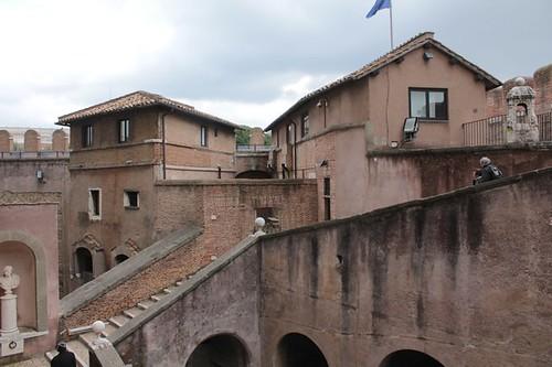Castel Sant'Angelo: la struttura interna