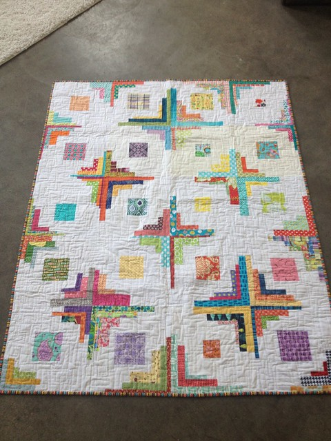 Harmony. do. good. stitches. Finished Quilt