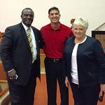 Warren School District Superintendent Bobby Acklin, Carla Wardlaw, & Paul - Warren, Arkansas