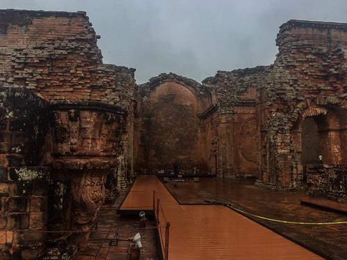 Trinidad: les ruines de la cathédrale