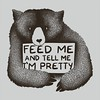 """Feed Me And Tell Me I'm Pretty"" https://goo.gl/7LTp6R #tshirt #customtshirts #tshirtdesign #iphonecase #iphone6case #cheaptshirts #tee #graphictees #tshirts #tobiasfonseca #tobefonseca #cooldesigns #funnytshirts #cooltshirt #collage #vintage #bear #panda"
