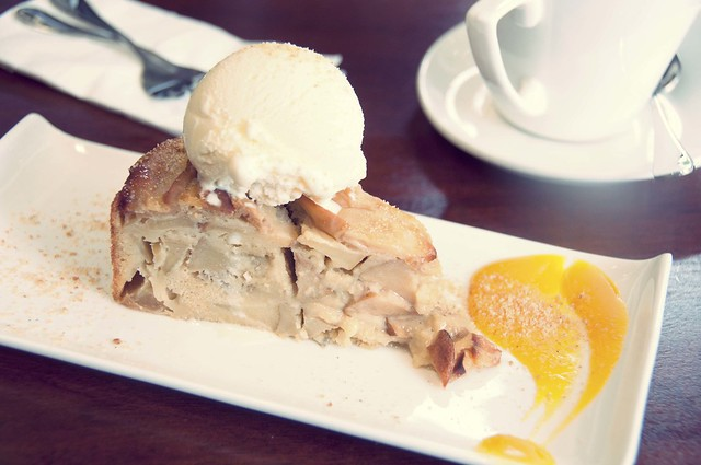 French Apple Cake - $6.50