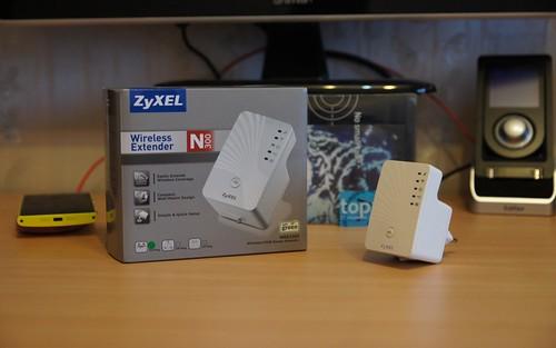 ZyXEL N300 WiFi   Wireless Range Extender