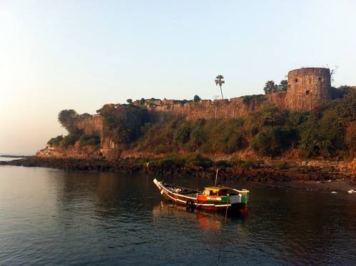 Madh Fort from Jetty