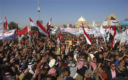 Iraqis demonstrate against US-installed regime. Unrest continues despite ostensible withdrawal by Washington in 2012. by Pan-African News Wire File Photos