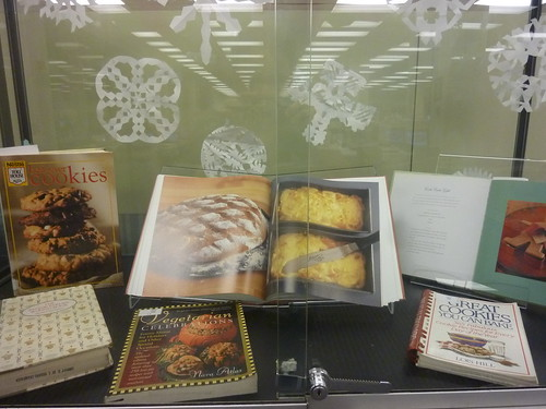 Cookbooks with glorious pictures of baked goods await you.