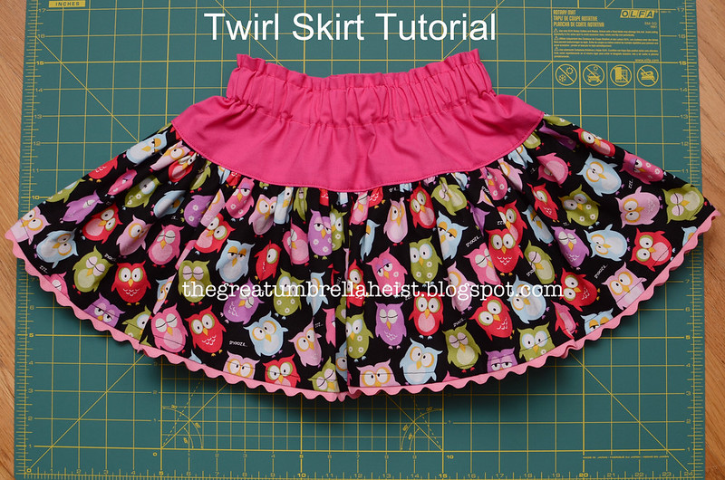 Twirl Skirt Instructions 89