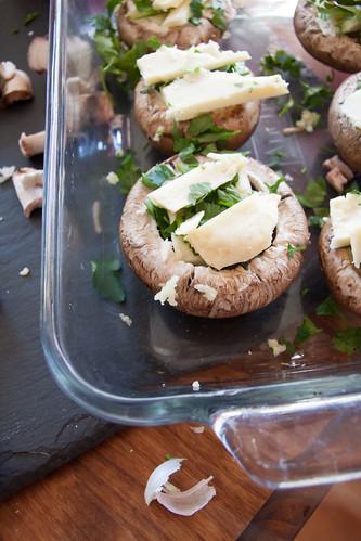Mushroom Sliders Raw