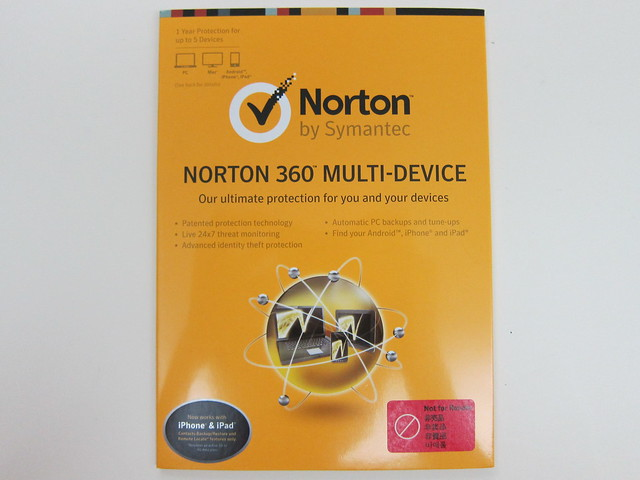 Norton 360 Multi-Device - Packaging Front View