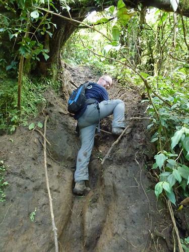 Cerro Chato Trail - klimmen 2