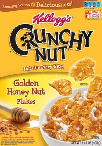 Golden Honey Nut Flakes