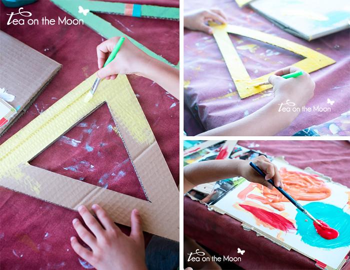 Guirnalda de cartón cumpleaños original birthday garland 0