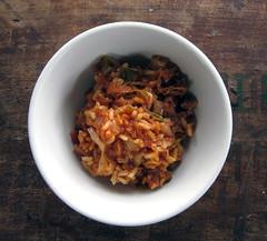 unstuffed cabbage rolls with sauerkraut