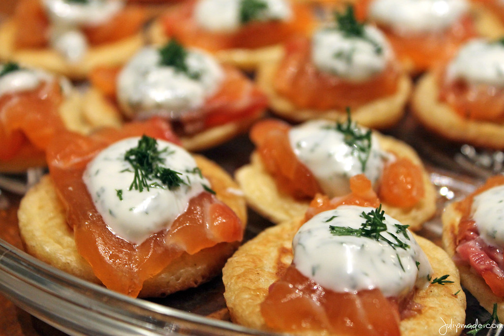 Julip Made salmon blini quick bites2