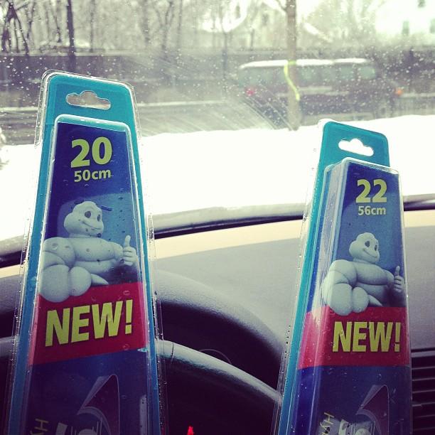 New Wiper Blades!