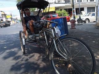 三輪車のおじさん