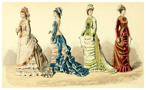 013- The history of fashion in France…1882-Augustin Challamel