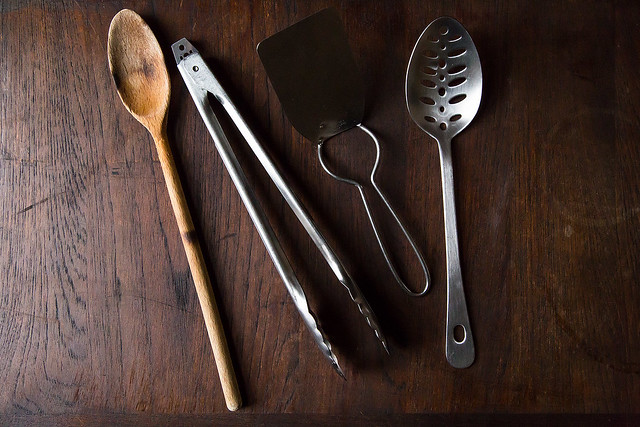 Spatulas, Spoons, Tongs